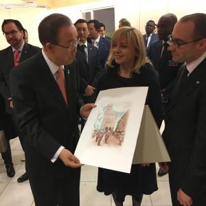 Reggenza con Ban Ki-moon - 29.02.2016