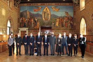 San Marino/ Segretario generale Dante Alighieri Masi in visita a San Marino